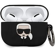 Karl Lagerfeld Silikónový Kryt pre Airpod Pro Black