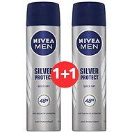 NIVEA Men Silver Protect 3× 150 ml - Sada