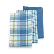 Kela Dishcloth PASADO 3pcs Blue - Dish Cloths