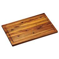 Kesper Krájacia doska s drážkou agátové drevo 40 × 26 cm - Doska na krájanie