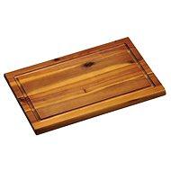 Kesper Krájacia doska s drážkou agátové drevo 31×21 cm - Doska na krájanie