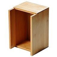 Kesper Zásobník na obrúsky a príbory bambusový - Organizér