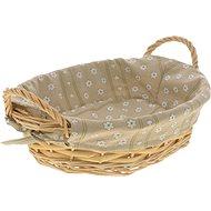 Kesper Košík na chlieb oválny s textilnou vložkou - Kôš
