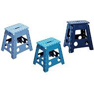 Kesper Stolička plastová vysoká modrá - Detský nábytok