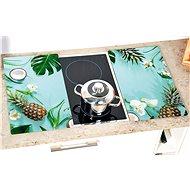 Kesper 2 ks, sklenená doska, motív Tropical - Doska na krájanie