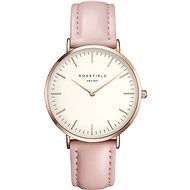 ROSEFIELD The Bowery White Pink Rosegold - Dámske hodinky