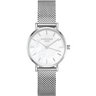 ROSEFIELD The Small Edit Silver mesh bracelet - Dámske hodinky