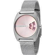 ESPRIT Disc Pink Silver Mesh ES1L036M0055 - Pánske hodinky