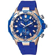 Q&Q Attractive Chronograph Watch DG10J102Y - Pánske hodinky