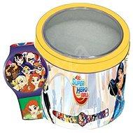 DISNEY SUPER HERO GIRLS – Tin Box 504919 - Detské hodinky