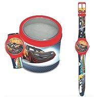 DISNEY PIXAR Cars – Tin box 561238 - Detské hodinky