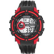 ARMITRON LCD 40/8384RED - Pánske hodinky