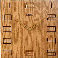 PRIM Wood Touch E07P.3954.51 - Nástenné hodiny
