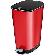 KIS Kôš na odpad Chic Bin L - Metal Red 50 l - Odpadkový kôš