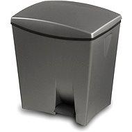 KIS Odpadkový kôš Duetto 10l + 20l sivý - Odpadkový kôš