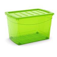 KIS Omnibox XL zelený 60 l na kolieskach - Úložný box