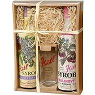 Kitl Syrob gift box - 2x500 (Bez, Raspberry) - Syrup