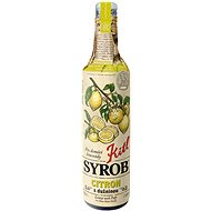 Kitl Syrob Lemon with Pulp 500ml - Syrup