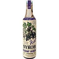 Kitl Syrob Čierne ríbezle s dužinou 500 ml - Sirup