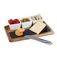 Kitchen Artist Servírovacia súprava s bridlicovou doskou MES110 - Servírovacia súprava
