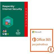 Kaspersky Int. Security pre 1 zar. na 12 mes. + Microsoft Office 365 pre jednotlivca (e-licencia) - Bezpečnostný softvér
