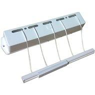KLAD Sušiak kúpeľňový samonavíjací 6 m - Sušiak na bielizeň