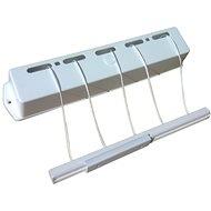 KLAD Sušiak kúpeľňový samonavíjací 4 m - Sušiak na bielizeň