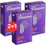 PRIMEROS Passion 3× 12 ks - Kondómy