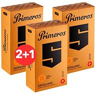 PRIMEROS Safeguard 3× 12 ks - Kondómy