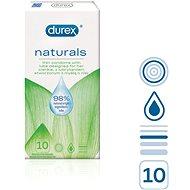 DUREX Naturals, 10 ks - Kondómy