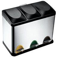 Toro Stainless-Steel Bin with Plastic Lid, 45l - Waste Bin