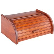 KOLIMAX box na pečivo 42 cm buk, farba mahagón - Chlebník