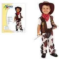Šaty na karneval – Kovboj veľ. M - Detský kostým