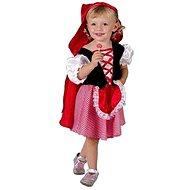 Šaty na karneval – Červená Čiapočka veľ. XS - Detský kostým