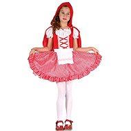 Šaty na karneval – Červená čiapočka veľ. S - Detský kostým