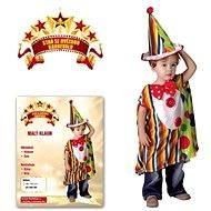 Šaty na karneval - Malý klaun vel. XS - Detský kostým