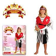 Šaty na karneval – Pirátka veľ. S - Detský kostým