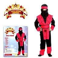 Karnevalové šaty - Ninja pavúk veľkosť S - Detský kostým