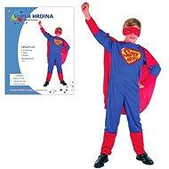 Šaty na karneval – Superhrdina veľkosť M - Detský kostým