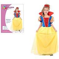 Šaty na karneval – Snehulienka veľkosť M - Detský kostým
