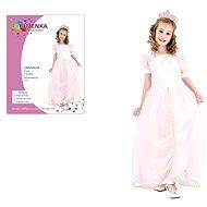 Šaty na karneval – Ruženka veľkosť M - Detský kostým