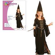Šaty na karneval – Čarodejnica veľ. S - Detský kostým