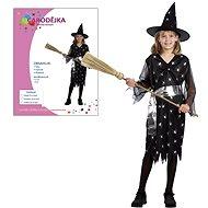 Šaty na karneval – Čarodejnica veľkosť M - Detský kostým
