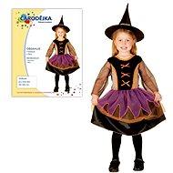 Šaty na karneval – Čarodejnica veľkosť XS - Detský kostým