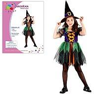 Šaty na karneval – Čarodejnica veľkosť S - Detský kostým