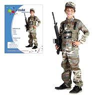 Karnevalové šaty - Veľkosť vojakov M - Detský kostým