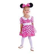 Karnevalové šaty - myš XS - Detský kostým