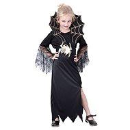 Šaty na karneval - Čierna vdova veľ. M - Detský kostým