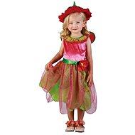 Šaty na karneval – Jahodová víla veľ. XS - Detský kostým
