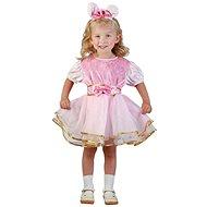 Šaty na karneval – Zajačik veľ. XS - Detský kostým